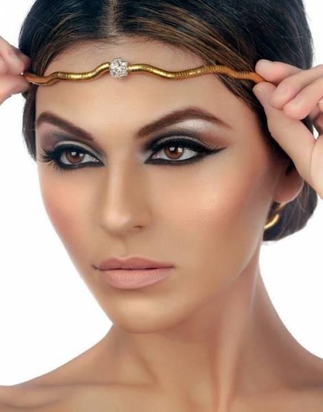 Maquiagem Árabe 5